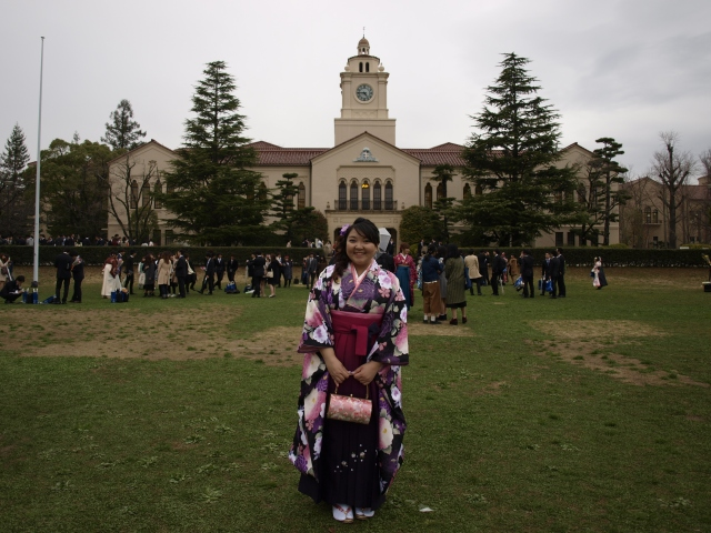 hakama kgu graduation